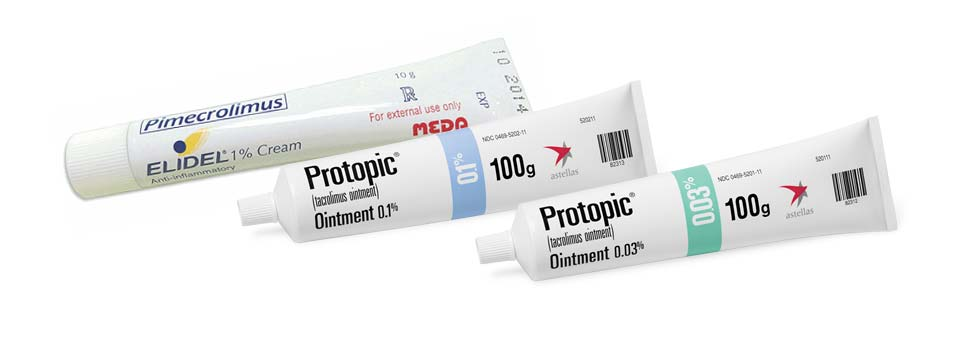 Eczema Protopic And Elidel Ointment Creams